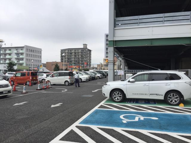 アピタ静岡店 (駿河区) 電気自動車の充電器スタンド |EVsmart